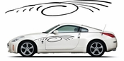 Pinstripe Pinstripes Car graphics Vinyl Decal Sticker Stickers MC916