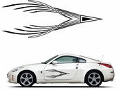 Pinstripe Pinstripes Car graphics Vinyl Decal Sticker Stickers MC917