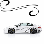 Pinstripe Pinstripes Car graphics Vinyl Decal Sticker Stickers MC920