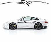 Pinstripe Pinstripes Car graphics Vinyl Decal Sticker Stickers MC938