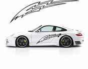 Pinstripe Pinstripes Car graphics Vinyl Decal Sticker Stickers MC942