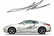 Pinstripe Pinstripes Car graphics Vinyl Decal Sticker Stickers MC950