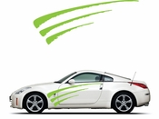 Pinstripe Pinstripes Car graphics Vinyl Decal Sticker Stickers MC960