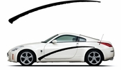 Pinstripe Pinstripes Car graphics Vinyl Decal Sticker Stickers MC962