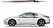 Pinstripe Pinstripes Car graphics Vinyl Decal Sticker Stickers MC969
