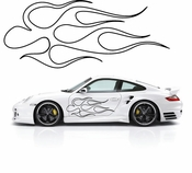 Pinstripe Pinstripes Car graphics Vinyl Decal Sticker Stickers MC998