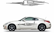 Pinstripe Pinstripes Car graphics Vinyl Decal Sticker Stickers MC1005