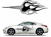 Pinstripe Pinstripes Car graphics Vinyl Decal Sticker Stickers MC1006