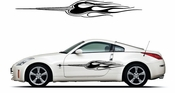 Pinstripe Pinstripes Car graphics Vinyl Decal Sticker Stickers MC1007