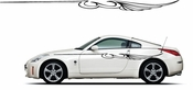 Pinstripe Pinstripes Car graphics Vinyl Decal Sticker Stickers MC1019