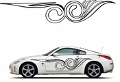 Pinstripe Pinstripes Car graphics Vinyl Decal Sticker Stickers MC1020