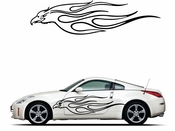Pinstripe Pinstripes Car graphics Vinyl Decal Sticker Stickers MC1024