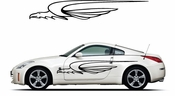 Pinstripe Pinstripes Car graphics Vinyl Decal Sticker Stickers MC1026