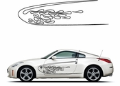 Pinstripe Pinstripes Car graphics Vinyl Decal Sticker Stickers MC1054