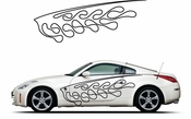 Pinstripe Pinstripes Car graphics Vinyl Decal Sticker Stickers MC1066