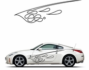 Pinstripe Pinstripes Car graphics Vinyl Decal Sticker Stickers MC1067