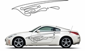 Pinstripe Pinstripes Car graphics Vinyl Decal Sticker Stickers MC1074