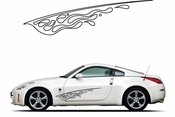 Pinstripe Pinstripes Car graphics Vinyl Decal Sticker Stickers MC1077