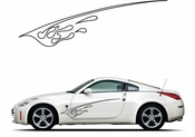 Pinstripe Pinstripes Car graphics Vinyl Decal Sticker Stickers MC1078