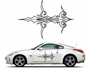 Pinstripe Pinstripes Car graphics Vinyl Decal Sticker Stickers MC1080
