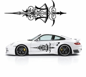 Pinstripe Pinstripes Car graphics Vinyl Decal Sticker Stickers MC1082