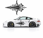 Pinstripe Pinstripes Car graphics Vinyl Decal Sticker Stickers MC1083