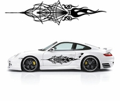 Pinstripe Pinstripes Car graphics Vinyl Decal Sticker Stickers MC1084
