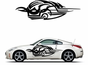 Pinstripe Pinstripes Car graphics Vinyl Decal Sticker Stickers MC1085