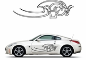 Pinstripe Pinstripes Car graphics Vinyl Decal Sticker Stickers MC1088
