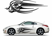Pinstripe Pinstripes Car graphics Vinyl Decal Sticker Stickers MC1089