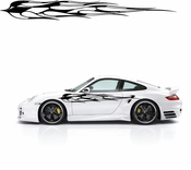 Racing Car Graphics pinstirpes Window Vinyl Car Wall Decal Sticker Stickers 02