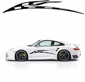 Racing Car Graphics pinstirpes Window Vinyl Car Wall Decal Sticker Stickers 05