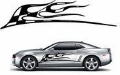 Racing Car Graphics pinstirpes Window Vinyl Car Wall Decal Sticker Stickers 07