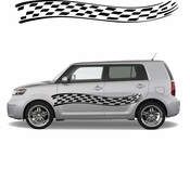 Racing Car Graphics pinstirpes Window Vinyl Car Wall Decal Sticker Stickers 12