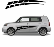 Racing Car Graphics pinstirpes Window Vinyl Car Wall Decal Sticker Stickers 13