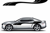 Racing Car Graphics pinstirpes Window Vinyl Car Wall Decal Sticker Stickers 14