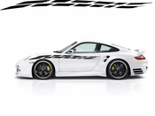 Racing Car Graphics pinstirpes Window Vinyl Car Wall Decal Sticker Stickers 16