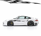 Racing Car Graphics pinstirpes Window Vinyl Car Wall Decal Sticker Stickers 20