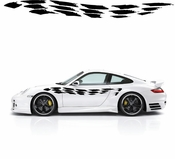 Racing Car Graphics pinstirpes Window Vinyl Car Wall Decal Sticker Stickers 22
