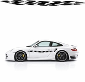 Racing Car Graphics pinstirpes Window Vinyl Car Wall Decal Sticker Stickers 24