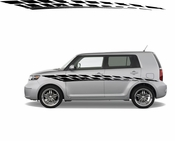 Racing Car Graphics pinstirpes Window Vinyl Car Wall Decal Sticker Stickers 26