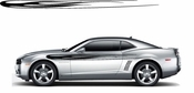 Racing Car Graphics pinstirpes Window Vinyl Car Wall Decal Sticker Stickers 38
