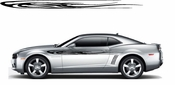 Racing Car Graphics pinstirpes Window Vinyl Car Wall Decal Sticker Stickers 42
