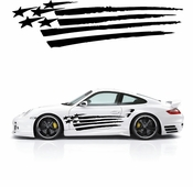 Racing Car Graphics pinstirpes Window Vinyl Car Wall Decal Sticker Stickers 49