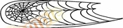 Racing Car Graphics pinstirpes Window Vinyl Car Wall Decal Sticker Stickers 53