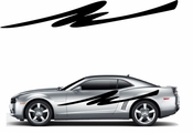 Racing Car Graphics pinstirpes Window Vinyl Car Wall Decal Sticker Stickers 90