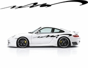 Racing Car Graphics pinstirpes Window Vinyl Car Wall Decal Sticker Stickers 92