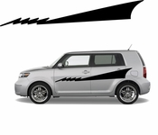Racing Car Graphics pinstirpes Window Vinyl Car Wall Decal Sticker Stickers 97