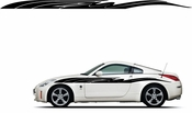 Racing Car Graphics pinstirpes Window Vinyl Car Wall Decal Sticker Stickers 101