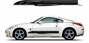 Racing Car Graphics pinstirpes Window Vinyl Car Wall Decal Sticker Stickers 104